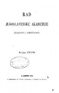 Knj. 28(1874) : RAD