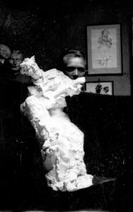 Radauš, Vanja (1906-1975) : Skica za spomenik Petrice Kerempuha - verzija s jednom figurom