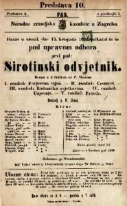 Sirotinski odvjetnik drama u 5 razdiela / od P. Merissa