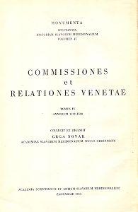 Sv. 4 : Od 1572 do 1590 godine = T. 4. : Annorum 1572 - 1590 : Monumenta spectantia historiam Slavorum meridionalium