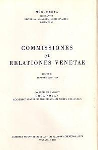 Sv. 6 : Od 1588. do 1620. godine = T. 6. : Annorum 1588 - 1620 : Monumenta spectantia historiam Slavorum meridionalium