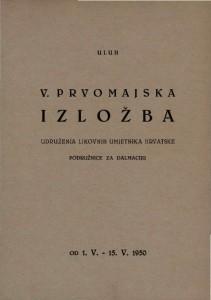 V. prvomajska izložba Udruženja likovnih umjetnika Hrvatske - podružnice za Dalmaciju