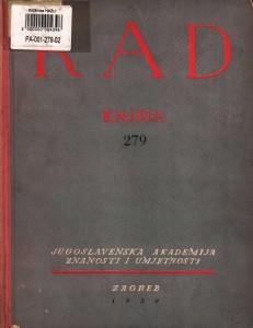 Knj. 4(1950) : RAD