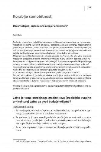 Korablje samobitnosti : Posebna izdanja / Hrvatska akademija znanosti i umjetnosti, Centar za znanstveni rad u Vinkovcima