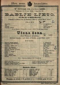 Bablje ljeto Komedija u jednom činu / od Meilhaca i Halévya