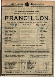 Francillon Gluma u tri čina / od Aleksandra Dumasa sina
