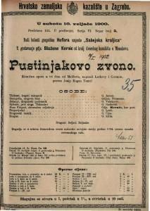 Pustinjakovo zvono Komična opera u tri čina / od Maillarta
