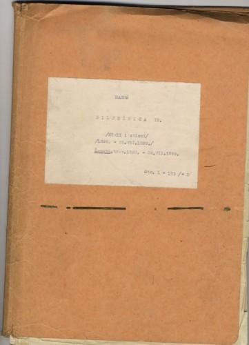 Bilježnica II. Misli i utisci