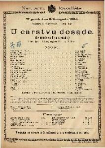 U carstvu dosade : Vesela igra u 3 čina / napisao Édouard Pailleron