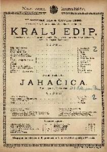Kralj Edip Tragedija u jednom činu / od sophokla