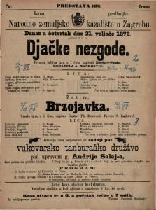 Djačke nezgode izvorna šaljiva igra u 1 činu / napisali Milan i Strozzi