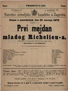 Prvi mejdan mladog Richelieu-a vesela igra u 2 čina / napisao ju Bayard