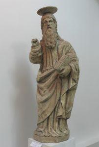 Svetac s portala crkve franjevačkog samostana  / Leonard i Petar Petrović