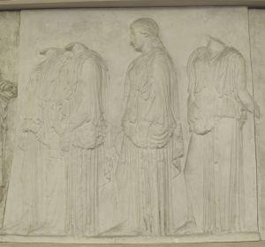 Četiri ženske figure- Partenon istočni friz