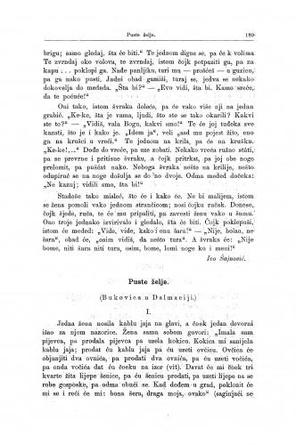 Puste želje : (Bukovica u Dalmaciji.) / V. Ardalić