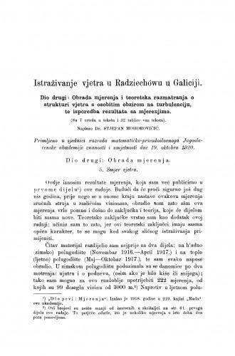 Istraživanje vjetra u Radziechówu u Galiciji