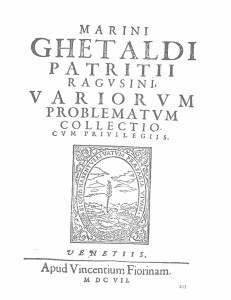 Marini Ghetaldi ... Variorum problematum collectio