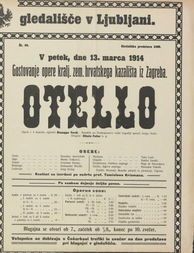 Otelo Opera v 4 dejanjih