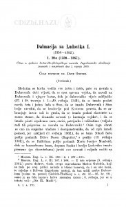 Dalmacija za Ludovika I. (1358-1382.) / D. Gruber