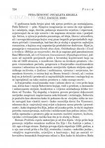 Feđa Šehović: Prokleta Ergela (V.B.Z, Zagreb, 2009.) : [književna kronika] / Ivan J. Bošković