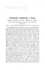 Poviestnička iztraživanja o Hrvoji velikom bosanskom vojvodi i spljetskom hercegu / S. Ljubić