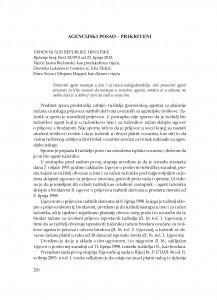 Agencijski posao - prikriveni (Vrhovni sud Republike Hrvatske, rješenje broj: Revt 52/09-2 od 23. 6. 2010.) : [prikaz] / Vesna Skorupan Wolff