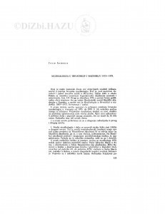 Muzikologija u Hrvatskoj u razdoblju 1973-1978 / J. Andreis