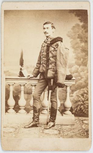 Izidor Kršnjavi kao student u Beču 1867. godine