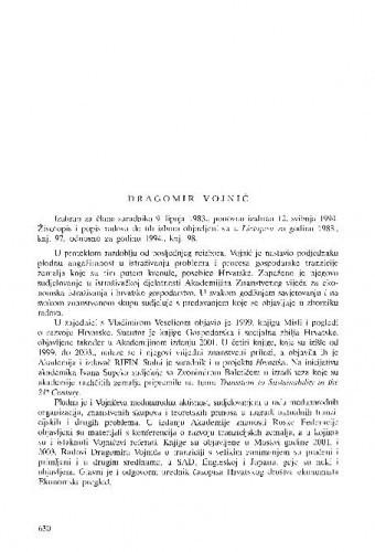 Dragomir Vojnić