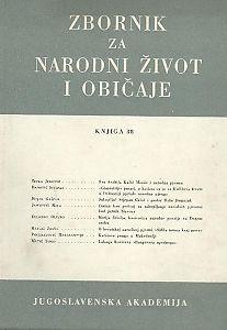 Knj. 38 (1954) : o 250. godišnjici rođenja fra Andrije Kačića Miošića / [urednici Dragutin Boranić, Milovan Gavazzi]