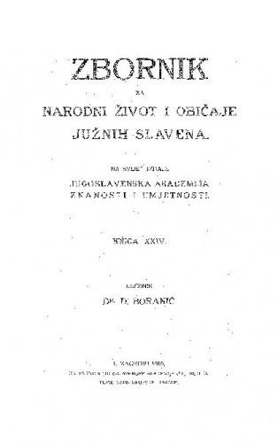 Knj. 24. (1919) / urednik D. Boranić