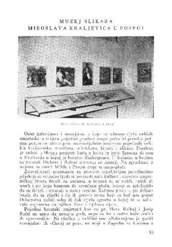 Muzej slikara Miroslava Kraljevića u Požegi / M. P.