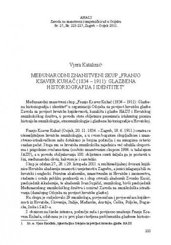 Međunarodni znanstveni skup