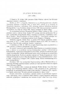 Zlatko Winkler (1917.-1996.) / Vladimir Matković