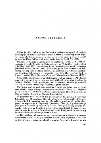 Anton Delyannis