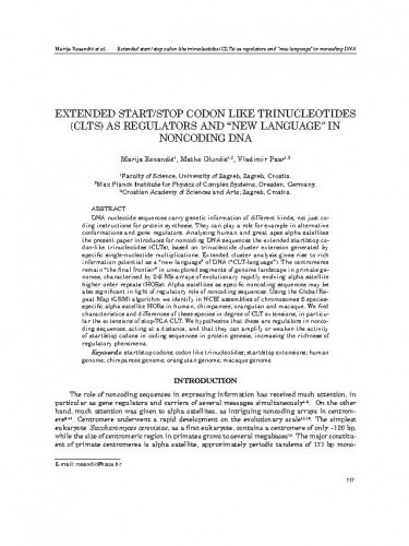 Extended start/stop codon like trinucleotides (CLTs) as regulators and