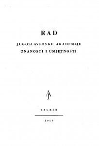 Knj. 3(1950)=knj. 280 [2.] / urednik Vale Vouk