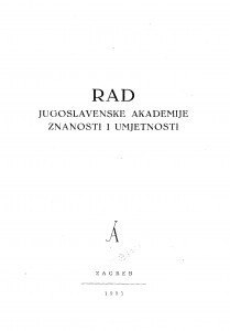 Knj. 1(1951)=knj. 284 / urednik Drago Perović