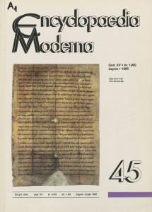 God. 15(1995), br. 45(br. 1) / odgovorni urednik Nikola Zovko