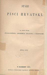 Pjesni razlike Dinka Rańine, vlastelina dubrovačkoga / izdanje priredio Matija Valjavec