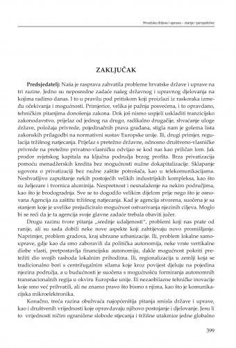 Zaključak / Eugen Pusić