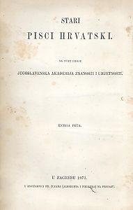 Pjesme Nikole Dimitrovića i Nikole Nalješkovića; skupili V. Jagić i Đ. Daničić