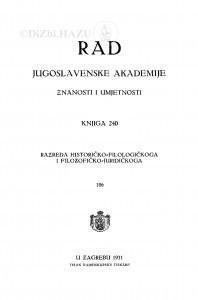 Knj. 106(1931)=knj. 240
