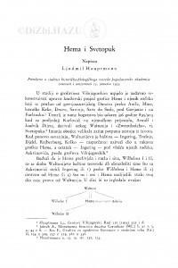 Hema i Svetopuk / Lj. Hauptmann