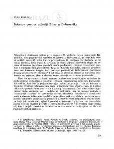 Poiretov portret obitelji Bizar u Dubrovniku / Cvito Fisković