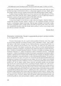 Ekonomska i ekohistorija. Časopis za gospodarsku povijest i povijest okoliša, sv. 15, Zagreb 2019. : [prikaz] / Sabine Florence Fabijanec