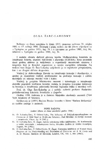 Olga Šarc-Lahodny