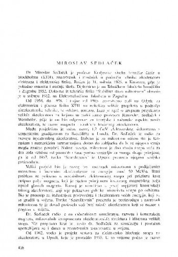Miroslav Sedlaček