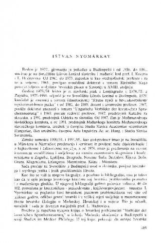 István Nyomárkay