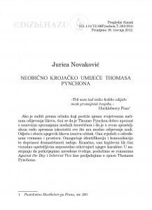 Neobično krojačko umijeće Thomasa Pynchona / Jurica Novaković